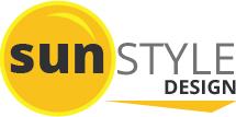 sun style design logo