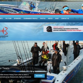 Under Armour Fishing Team